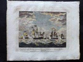 Field of Mars 1801 Naval. Engagement off Martinico between Rodney & Guichen